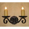 Laura Lee Designs Louisiana Double Wall Sconce