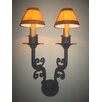 Laura Lee Designs Tuscany Double Wall Sconce