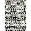 Kalora Palette White/Black Scan Area Rug