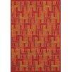 Kalora Manika Orange/Red Area Rug
