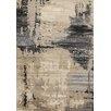 Kalora Platinum Beige/Black Area Rug