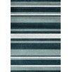 Kalora Fame Green/Grey Stripes Area Rug