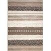 Kalora Intrigue Cream/Brown Stripes Area Rug