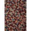 Kalora Maroq Quilt Soft Touch Red/Cream Area Rug