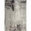Kalora Ashbury Stroke of Abstract Gray Area Rug