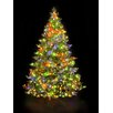 Hometime Snowtime 7.5' Green Pre-Lit Alaskan Spruce Artificial Christmas Tree with 750 Color Lights