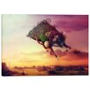 "Cortesi Home ""The Carnival is Over"" by Mario Sanchez Nevado Graphic Art on Wrapped Canvas"