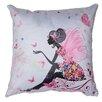 Cortesi Home Very Fairy Decorative Accent Throw Pillow