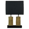 "Cortesi Home 20.5"" H Table Lamp with Rectangular Shade"