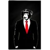 "Cortesi Home ""Domesticated Monkey"" by Nicklas Gustafsson Graphic Art on Wrapped Canvas"
