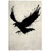 """Cortesi Home """"Raven"""" by Nicklas Gustafsson Graphic Art on Canvas"""
