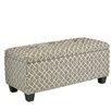 Cortesi Home Kiki Wood Storage Bedroom Bench