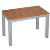 Cortesi Home Avery Aluminum Picnic Bench