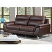 Cortesi Home Chicago Leather Sofa
