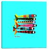 "Cortesi Home ""Fish Sticks"" by Chuck Wimmer Graphic Art on Canvas"