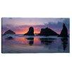"Cortesi Home ""Bandon Beach Tsunami"" by Jesse Estes Photographic Print on Wrapped Canvas"