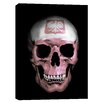 "Cortesi Home ""Polish Skull"" by Nicklas Gustafsson Graphic Art on Canvas"