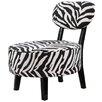 Milton Green Star Tranquility Zebra Side Chair