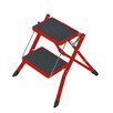 Hailo USA Inc. 2-Step Steel Mini Step Stool with 330 Ib. Load Capacity