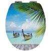 Sanwood 3D Curacao Elongated Toilet Seat