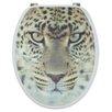 Sanwood 3D-WC-Sitz Leopard