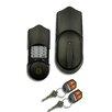 SimpliciKey, LLC Single Cylinder Keyless Electronic Deadbolt with Remote