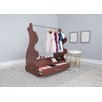 Ace Baby Furniture Rabbit Mobile Dress Up Clothes and Shoe Organizer Armoire