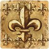 Thirstystone Fleur de Lis Travertine Ambiance Trivet