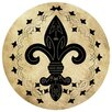 Thirstystone Fleur de Lis II Occasions Coaster (Set of 4)