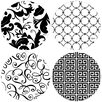 Thirstystone It's All Black and White Coaster (Set of 4)