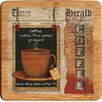 Thirstystone Coffee Love Bamboo Coaster (Set of 4)
