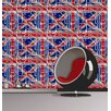 Muriva Tube Map 10.05m L x 53cm W Roll Wallpaper