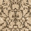Muriva Baroque 10.05m L x 53cm W Foiled Roll Wallpaper