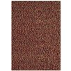 TheRealRugCompany Innenteppich Felt Pebble in Rot