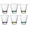 Majestic Crystal Confetti Double Old Fashioned Tumbler (Set of 6)