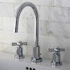 Kingston Brass Millennium Mini Widespread Bathroom Faucet