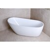 "Kingston Brass Aqua Eden 68.13"" x 30.5"" Soaking Bathtub"