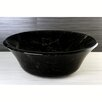 Kingston Brass Fauceture Double Layer Glass Round Vessel Sink
