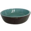 Kingston Brass Fauceture Double Layer Glass Round Vessel Bathroom Sink