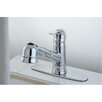 Kingston Brass Eden Gourmetier Pull-Out Kitchen Faucet