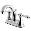 Kingston Brass Tudor Standard Bathroom Faucet with Drain Assembly