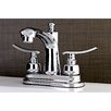 Kingston Brass Jamestown Standard Bathroom Faucet with Drain Assembly