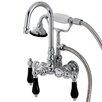 Kingston Brass Duchess Wall Mount Clawfoot Tub Faucet