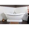 Kingston Brass Aqua Eden Soaking Bathtub