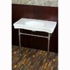 "Kingston Brass Duchess Vitreous 34"" Bathroom Sink with Pedestal"