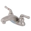 Kingston Brass Magellan Double Handle Centerset Bathroom Faucet