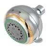 Kingston Brass Showerscape Adjustable Fixed Shower Head