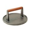 Charcoal Companion Cast Iron Round Barbecue Press