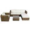 IHP24 6-tlg. Sofa-Set Mallover mit Kissen