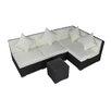 IHP24 4-tlg. Sofa-Set Ultimate Relax mit Kissen